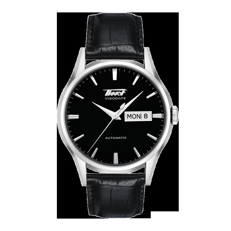 Tissot Heritage Visodate black dial & steel T0194301605101