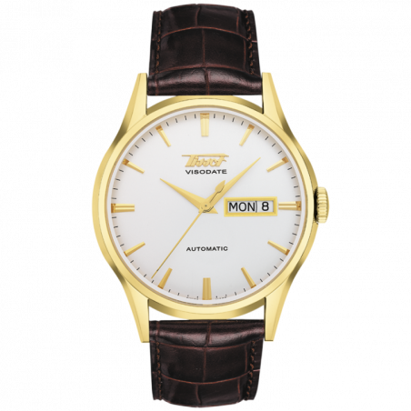 Tissot Heritage Visodate with silver dial T0194303603101