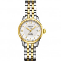 Tissot - Le Locle Automatic Lady silver dial stainless steel & yellow gold PVD T41218334