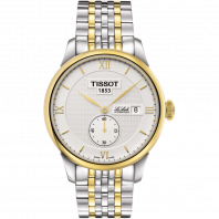 Tissot - Le Locle Automatisk Petite Seconde stål och gult guld PVD T0064282203801