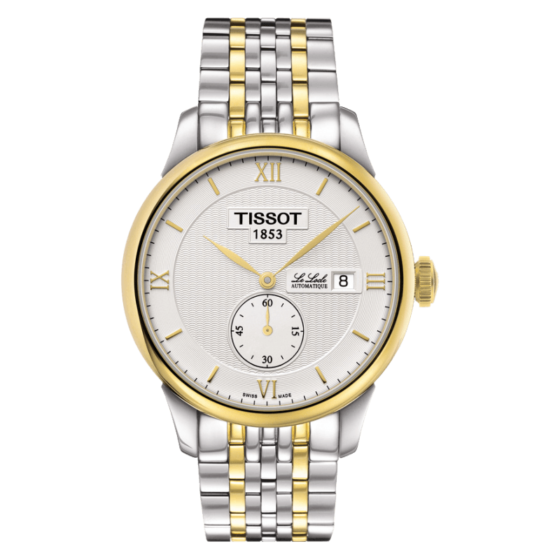 Tissot - Le Locle Automatisk Petite Seconde stål och gult guld PVDT0064282203801