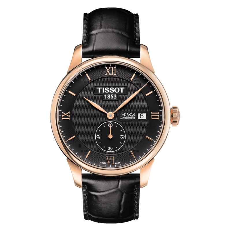 Tissot - Le Locle Small Second herrklocka svart T0064283605801