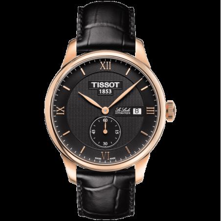 Tissot - Le Locle Small Secondherrklocka svart T0064283605801
