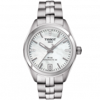 Tissot - PR100 Powermatic 80 mother of Pearl dial and Stainless steel T1012071111600