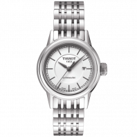 TISSOT - CARSON AUTOMATIC LADY, white dial and bracelet T0852071101100
