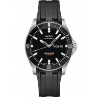 MIDO Ocean Star- Black, DayDate & Rubber 43mm