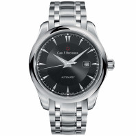 Manero Automatic Men's Watch - 42 mm Black Dial