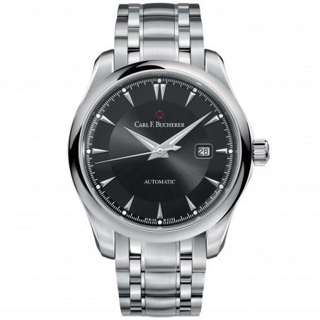 Manero Automatic Men's Watch - 42 mm Black Dial