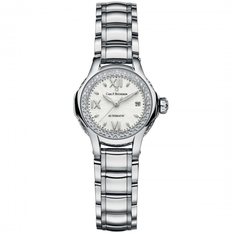 Carl F. Bucherer Pathos Queen Automatic Women's Steel Watch