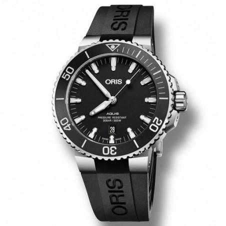 Oris Aquis Date Black Rubber Strap 73377304154-0742464EB