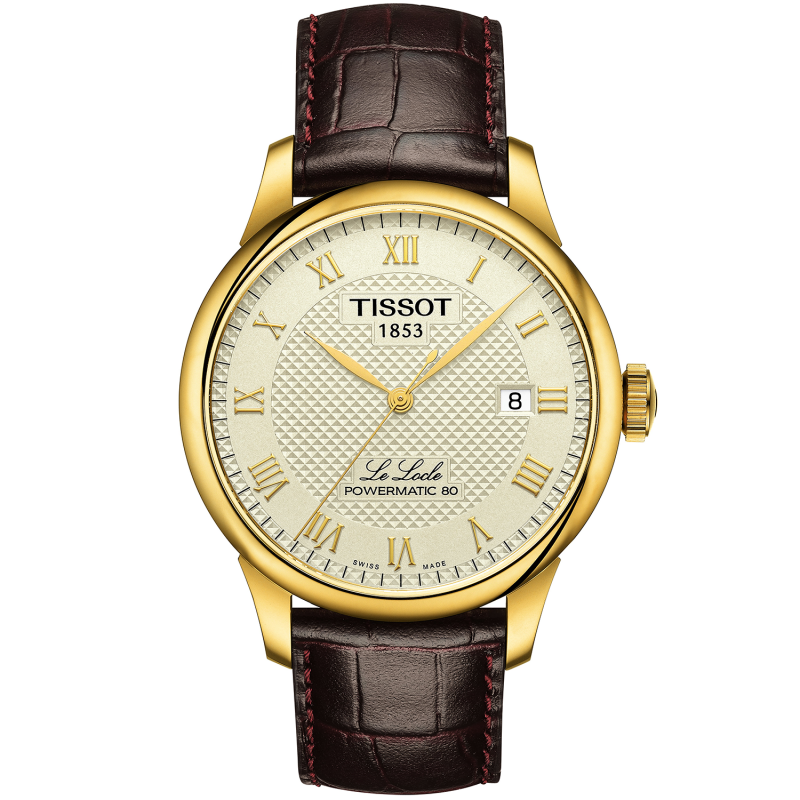 Tissot - LE LOCLE POWERMATIC 80 Ivory dial T0064073626300