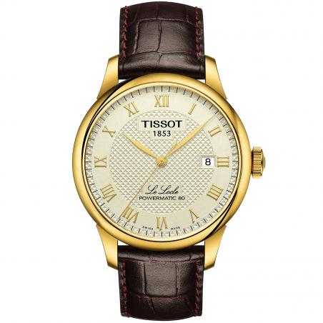 Tissot - LE LOCLE POWERMATIC 80 Ivory dial T0064073626300