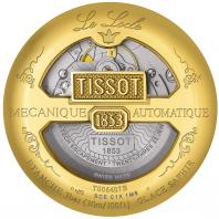 Tissot - LE LOCLE POWERMATIC 80 Beige & gult guld T0064073626300