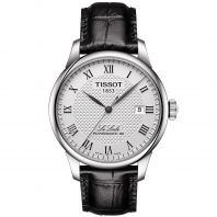 Tissot - LE LOCLE POWERMATIC 80 Silver & läderband