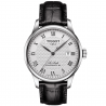 Tissot - LE LOCLE POWERMATIC 80 Silver & leather strap T0064071603300