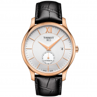 TISSOT TRADITION AUTOMATIC SMALL SECOND Silver & Rose gold