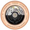 Tissot - TRADITION POWERMATIC 80 OPEN HEART Svart & Rose guld T0639073606800
