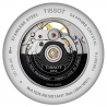 Tissot - TRADITION POWERMATIC 80 OPEN HEART Silver & Läderband T0639071603800