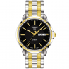 Tissot - AUTOMATICS III Men's watch Black dial, Steel&gold T0654302205100