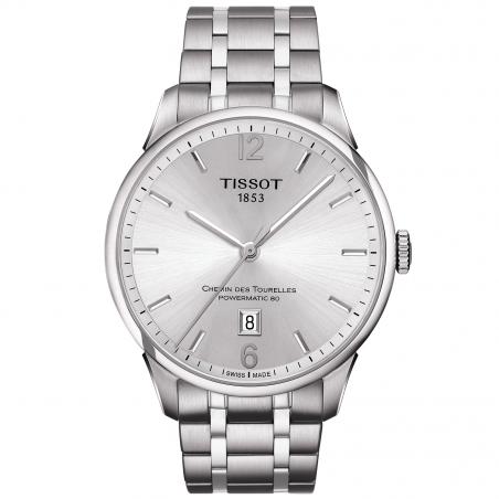 TISSOT - CHEMIN DES TOURELLES POWERMATIC 80 Steel Bracelet T0994071103700