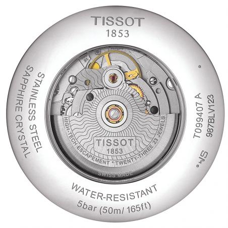 TISSOT - CHEMIN DES TOURELLES POWERMATIC 80 Black & Steel T0994071105800