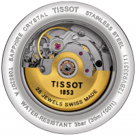 Tissot - CARSON AUTOMATIC Women's watch with roman numerals T0852071601300