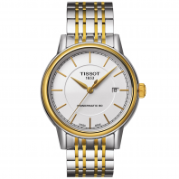 TISSOT CARSON POWERMATIC 80 Men's watch Gold & Steel