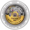 TISSOT CARSON POWERMATIC 80 Damklocka Stål & guld T0854072201100