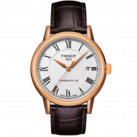 TISSOT CARSON POWERMATIC 80 White & Rose gold