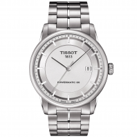 TISSOT - LUXURY POWERMATIC 80 Men's watch Silver & Steel
