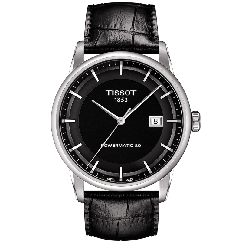 TISSOT - LUXURY POWERMATIC 80 Black T0864071605100