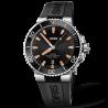 Oris Aquis Date Black & Orange Rubber Strap 733 7730 4159-07 4 24 64EB
