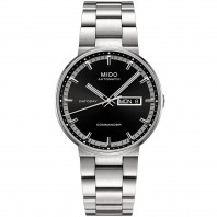 MIDO COMMANDER - AUTOMATIC DayDate Black Steel Gent's