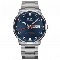 MIDO COMMANDER - AUTOMATIC COSC Blue & Steel DayDate