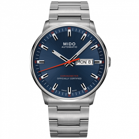 MIDO COMMANDER - AUTOMATIC Chronometer Certified-Blue dial M0214311104100