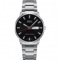 MIDO COMMANDER - AUTOMATIC Chronometer Certified svart urtavla