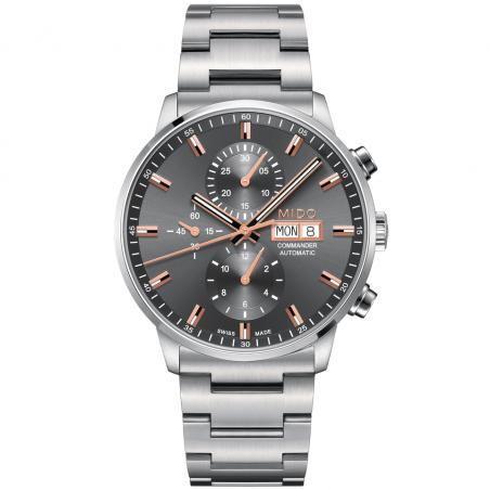 MIDO COMMANDER - AUTOMATIC kronograf grå M0164141106100