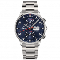 MIDO COMMANDER - AUTOMATIC chronograph blue