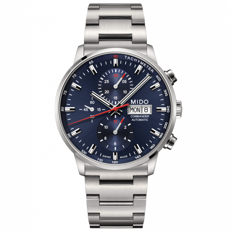 MIDO COMMANDER - AUTOMATIC chronograph blue M0164141104100
