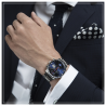 MIDO COMMANDER - AUTOMATIC kronograf blå M0164141104100