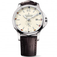 Corum Admiral Legend 42 mm - Beige dial & Leather strap