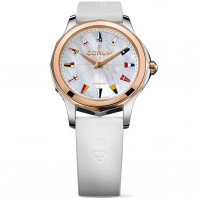 Corum Admiral Legend 32 mm Mother pearl Rose Gold