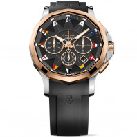 Corum Men's Admiral's Cup Legend 42 Chronograph gold & steel A984/03157-984.101.24/F371 AN12