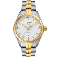 Tissot - PR 100 LADY yellow gold PVD & bracelet T1012102203100