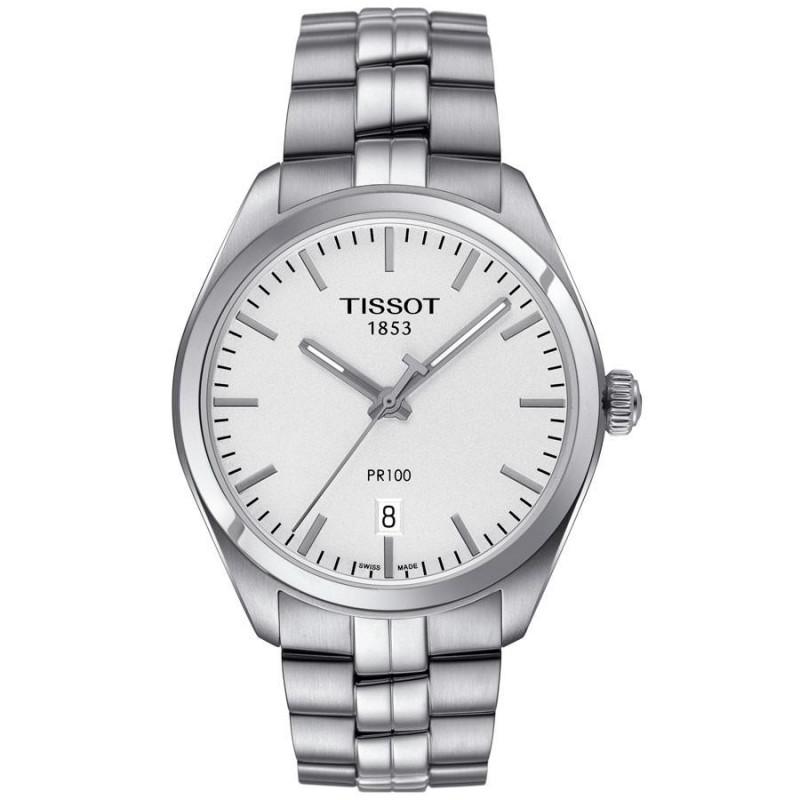 Tissot - PR 100 silver & stållänk T1014101103100