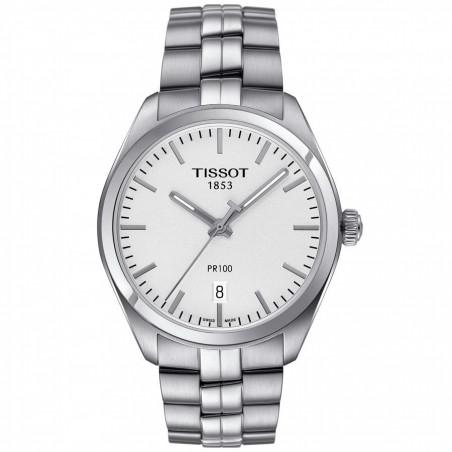 Tissot - PR 100 silver & bracelet T1014101103100