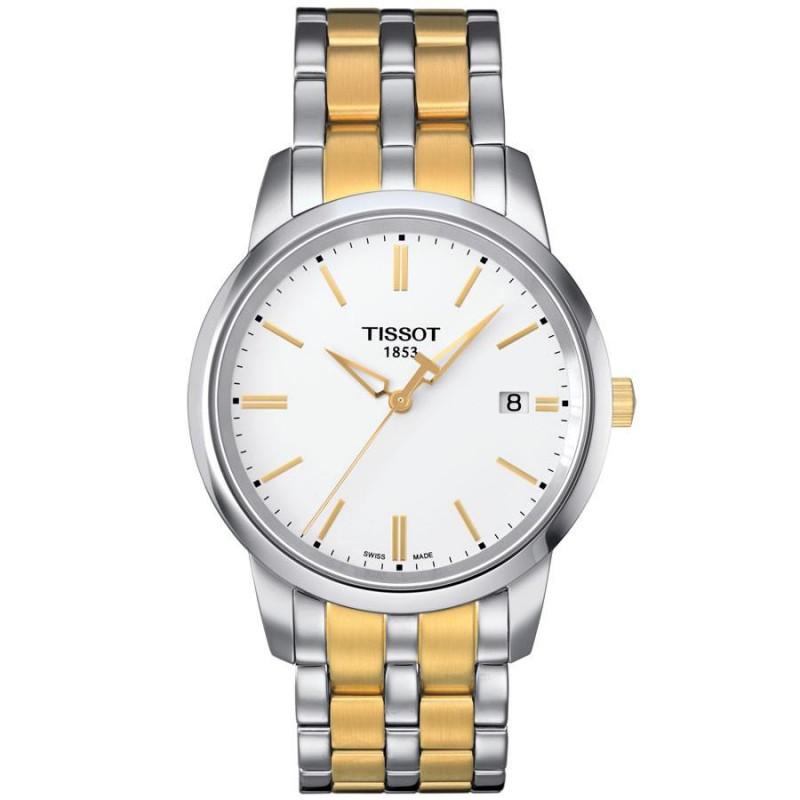 Tissot - Classic Dream Men's watch yellow gold & bracelet T0334102201101