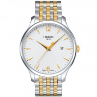 Tissot - Tradition Men's watch gold & steel T0636102203700
