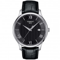Tissot - Tradition men's watch black & roman numerals T0636101605800