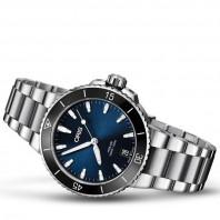 Oris Aquis Date Blue & Bracelet Women's watch 73377314135MB